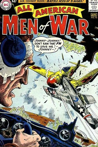 All-American Men Of War (1952) #96, cover by Russ Heath.