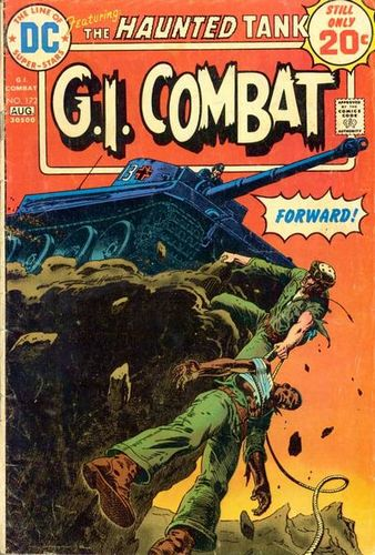 G.I. Combat (1952) #172, cover by Russ Heath.