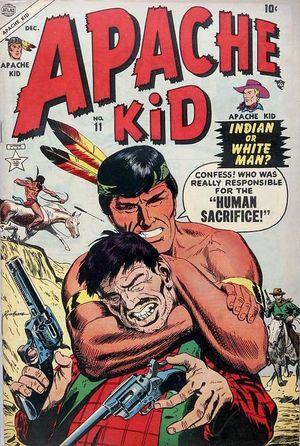 Apache Kid (1950) #11, cover by Russ Heath.