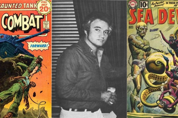 An Interview With Russ Heath - Drawing Men of War, From Toy Soldiers to Easy Company   Written by Bryan Stroud