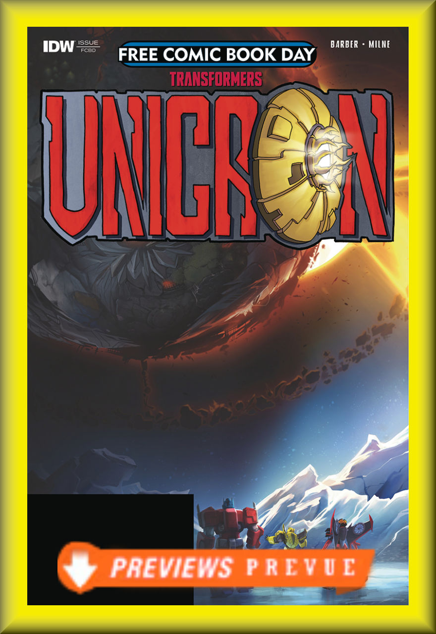 FCBD 2018 Transformers: Unicron #0 (IDW)