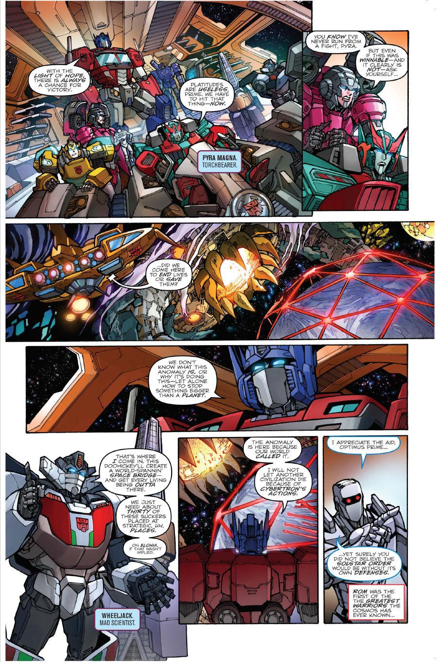 FCBD 2018 Transformers: Unicron #0 - Preview 3.