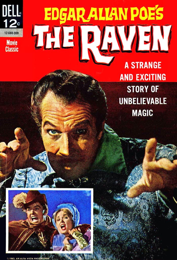 The Raven (1963) #1, interior art was done by Frank Springer.
