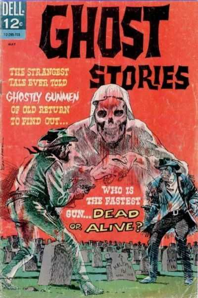 Ghost Stories (1962) #18, cover by Frank Springer.