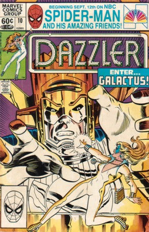 Dazzler (1981) #10, cover by Frank Springer.