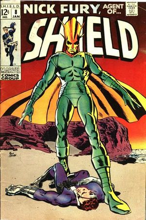 Nick Fury, Agent of S.H.I.E.L.D. (1968) #8, cover by Frank Springer.