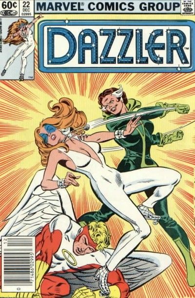 Dazzler (1981) #22, cover by Frank Springer.