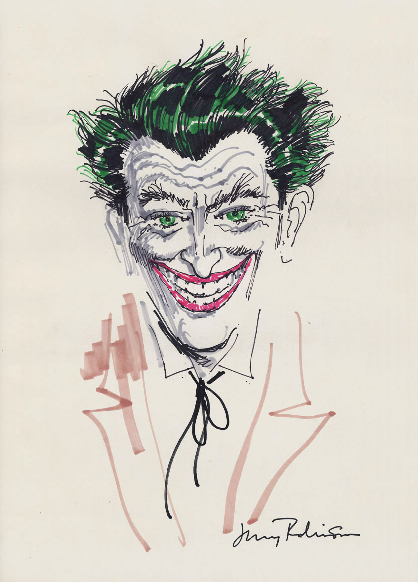 The Joker by Jerry Robinson.