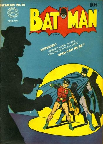 Batman (1940) #16, cover by Jerry Robinson.