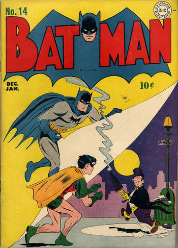 Batman (1940) #11, cover by Jerry Robinson.