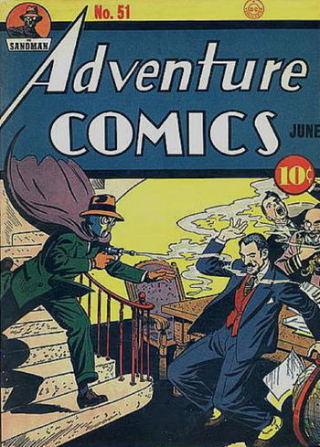 Adventure Comics (1938) #51, cover by Creig Flessel.