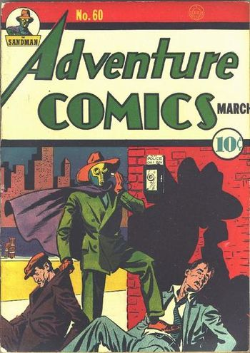 Adventure Comics (1938) #60, cover by Creig Flessel.