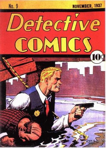 Detective Comics (1937) #9, cover by Creig Flessel.