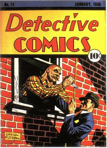 Detective Comics (1937) #11, cover by Creig Flessel.