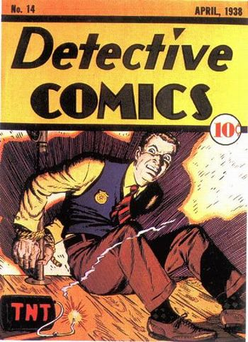 Detective Comics (1937) #14, cover by Creig Flessel.