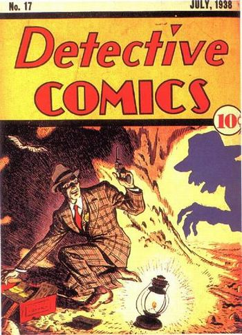 Detective Comics (1937) #17, cover by Creig Flessel.