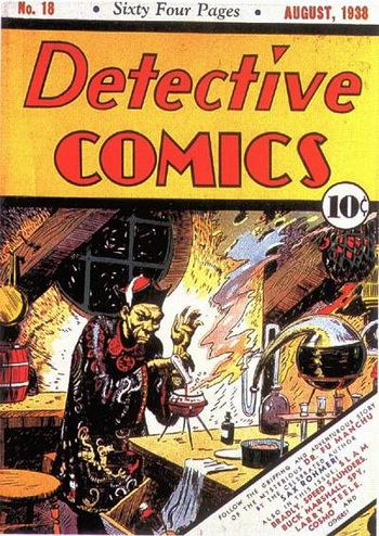 Detective Comics (1937) #18, cover by Creig Flessel.