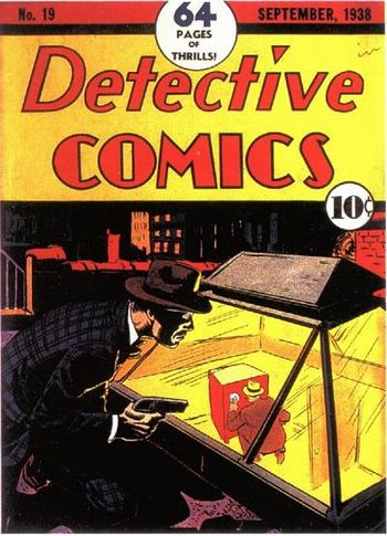 Detective Comics (1937) #19, cover by Creig Flessel.