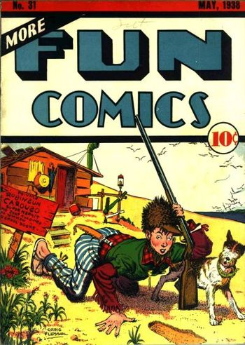 More Fun Comics (1936) #31, cover by Creig Flessel.