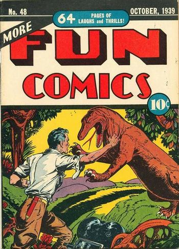 More Fun Comics (1936) #48, cover by Creig Flessel.