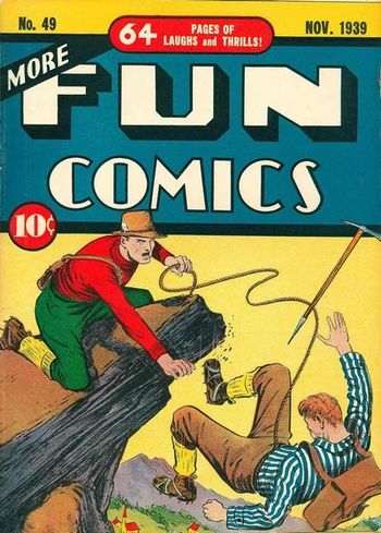 More Fun Comics (1936) #49, cover by Creig Flessel.