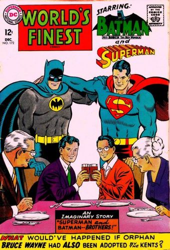 World's Finest Comics (1941) #172, main story written by Jim Shooter.