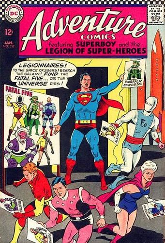 Adventure Comics (1938) #352, written by Jim Shooter.
