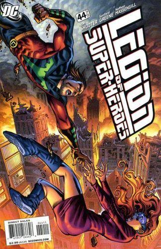 Legion of Super-Heroes (2005) #44, written by Jim Shooter.