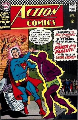 Action Comics (1938) #340, main story written by Jim Shooter.