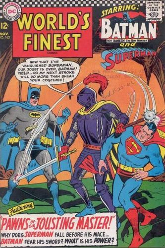 World's Finest Comics (1941) #162, main story written by Jim Shooter.