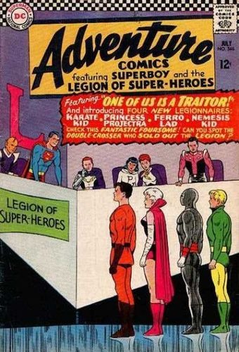 Adventure Comics (1938) #346, written by Jim Shooter.