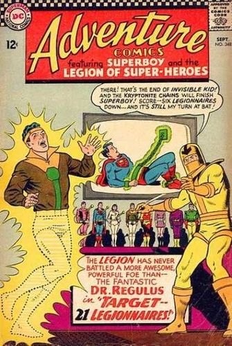 Adventure Comics (1938) #348, written by Jim Shooter.
