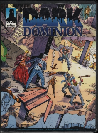 Dark Dominion (1993) #0, co-written by Jim Shooter & Steve Ditko.