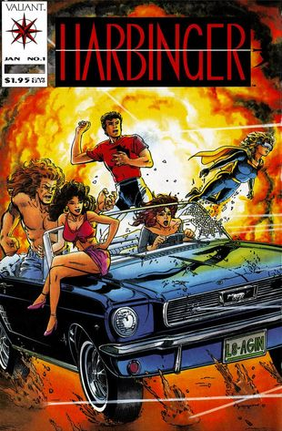 Harbinger (1992) #1, written by Jim Shooter.