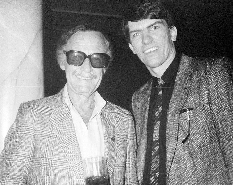 Stan Lee & Jim Shooter.