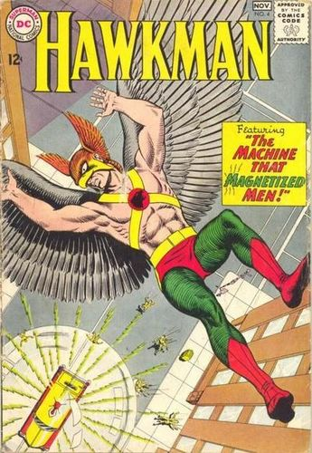 Hawkman (1964) #4, cover by Murphy Anderson.