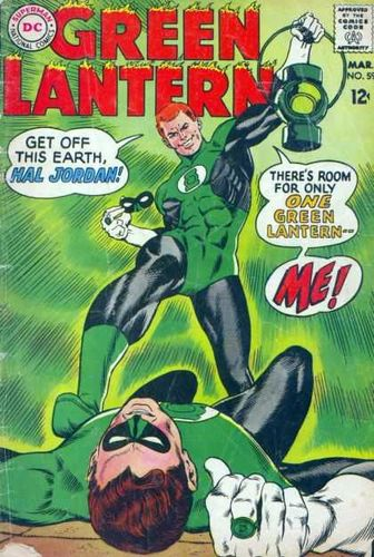 Green Lantern (1960) #59, cover penciled by Gil Kane & inked by Murphy Anderson.