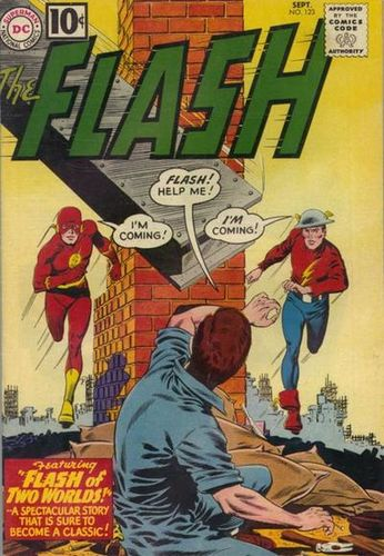 The Flash (1959) #123, cover penciled by Carmine Infantino & inked by Murphy Anderson.