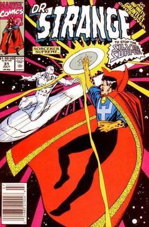 Dr. Strange, Sorcerer Supreme (1988) #31, cover by Tony DeZuniga.