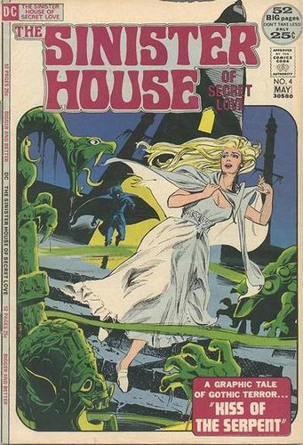 Sinister House Of Secret Love (1971) #4, cover by Tony DeZuniga.