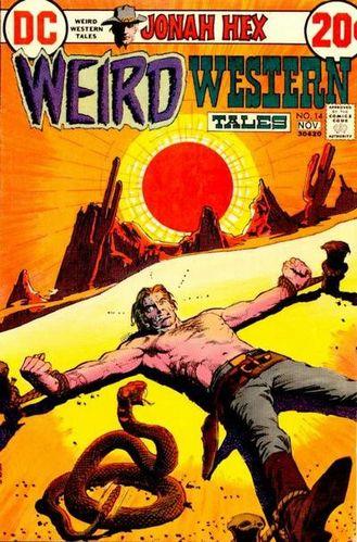 Weird Western Tales (1972) #14, cover by Tony DeZuniga.