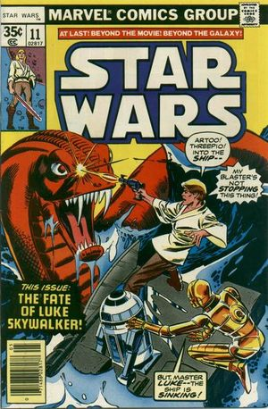 Star Wars (1977) #11, cover penciled by Gil Kane & inked by Tony DeZuniga.