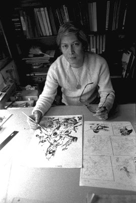 Tony DeZuniga in his New York studio, 1979.