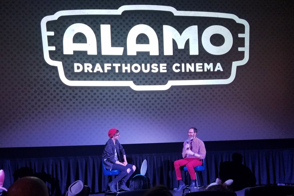 Joe Kelly at the Alamo Drafthouse.