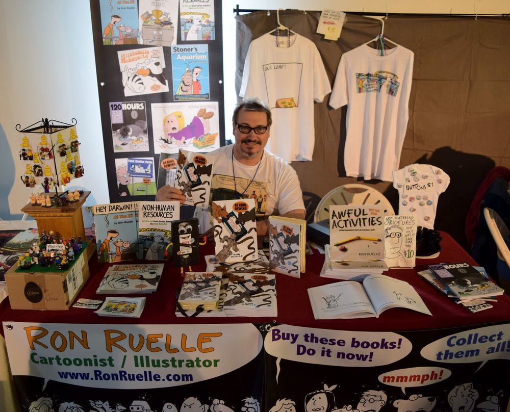 Ron Ruelle at DINK 2018.
