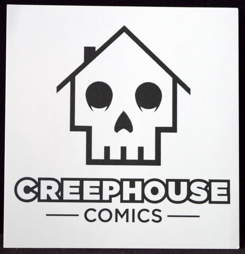CreepHouse Comics Stickers!