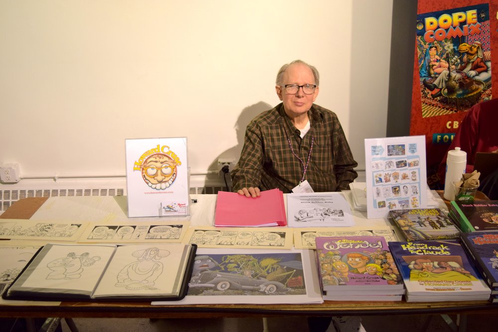 Howard Cruse at DINK 2018.