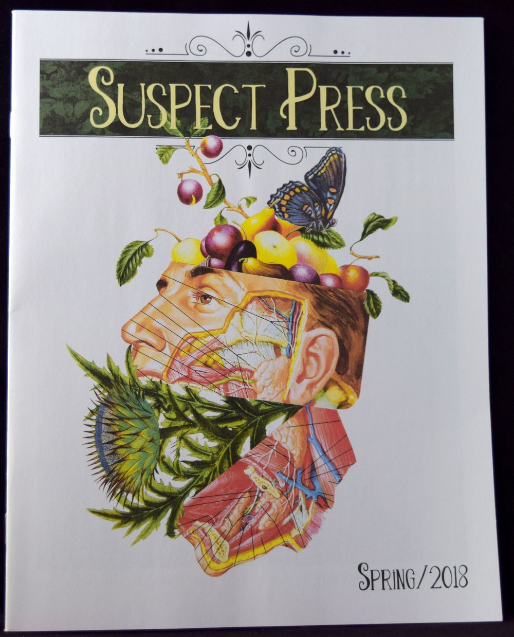 The Spring 2018 edition of Suspect Press.