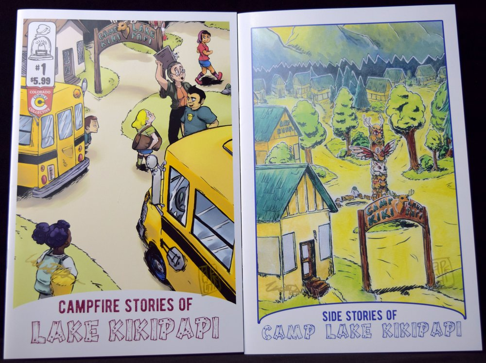 Campfire Stories of Lake Kikipapi    #1  & the new issue   Side Stories of Camp Lake Kikipapi   from Bill & Pepper DeLuca.