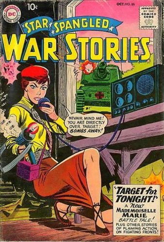 Star Spangled War Stories (1952) #86, cover by Jerry Grandenetti.
